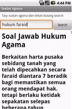 Soalan Agama for Android apk screenshot