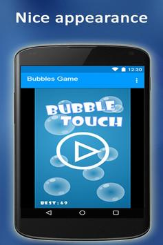 Bubbles Game free poster