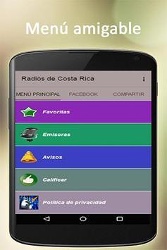 Costa Rican radio free poster
