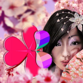 Japan Girl GO Launcher Theme icon