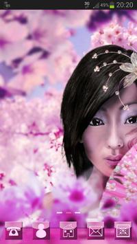 Japan Girl GO Launcher Theme apk screenshot