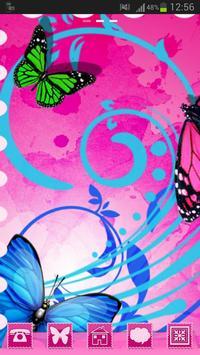 Theme Butterflies GO Launcher poster