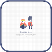 Russian dolls golauncher theme icon
