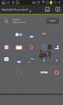 Russian dolls golauncher theme apk screenshot