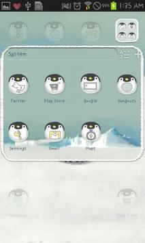 Babyemperorpenguin go launcher screenshot 3