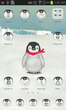 Babyemperorpenguin go launcher screenshot 1