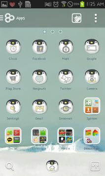 Babyemperorpenguin go launcher screenshot 2
