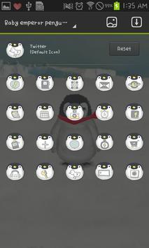 Babyemperorpenguin go launcher screenshot 4