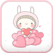 BeBe Heart go launcher theme icon