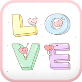 LOVE go launcher theme icon