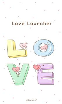 LOVE go launcher theme poster
