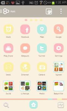 Love Catty go launcher theme apk screenshot