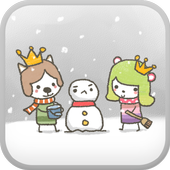 MoongMong(Snowman) go launcher icon