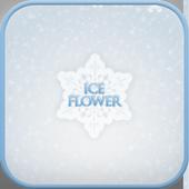 Ice flower go launcher theme icon