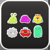 monster go launcher theme icon