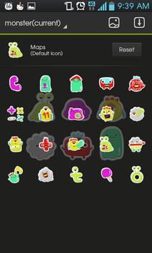 monster go launcher theme screenshot 3