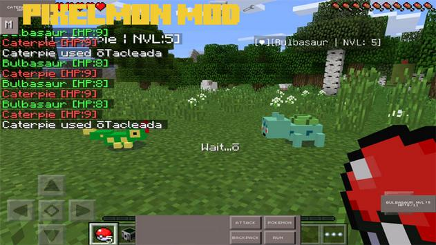 Pixelmon Mod for Minecraft PE screenshot 1