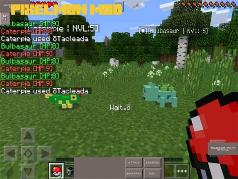 Pixelmon Mod for Minecraft PE screenshot 3