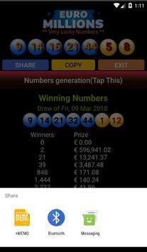 EuroMillions screenshot 2