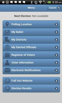 GeauxVote Mobile screenshot 1