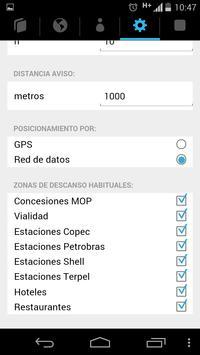 Planificador Zonas de Descanso screenshot 6
