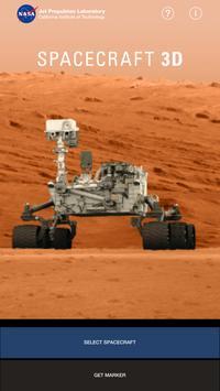 Spacecraft 3D-poster