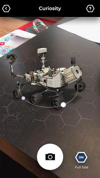 Spacecraft AR screenshot 3