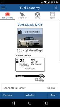 Find-a-Car: FuelEconomy.gov screenshot 1