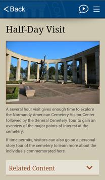 Normandy American Cemetery screenshot 3