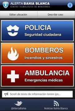 Alerta Bahía Blanca apk screenshot