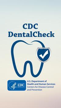 CDC DentalCheck poster