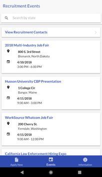 CBP Jobs apk screenshot