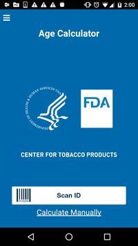 FDA Age Calculator poster
