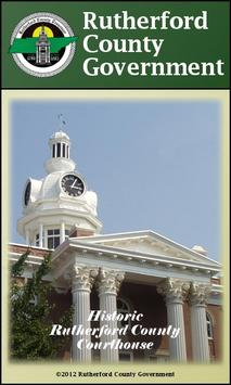 Rutherford County Government poster