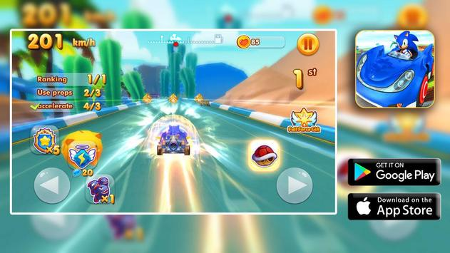 Fast SONIC ADVENTURE for Android - APK Download