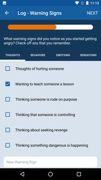 Anger and Irritability Management Skills (AIMS) apk screenshot
