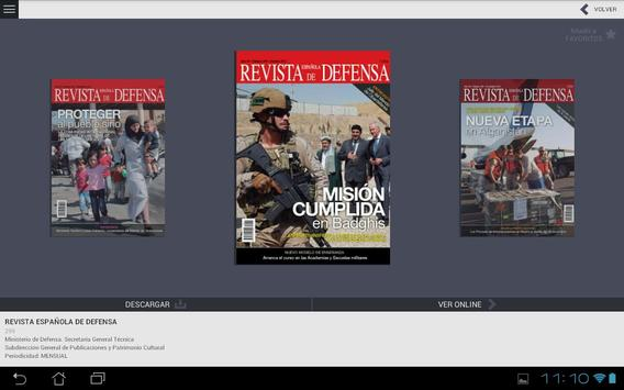 Revistas de Defensa apk screenshot
