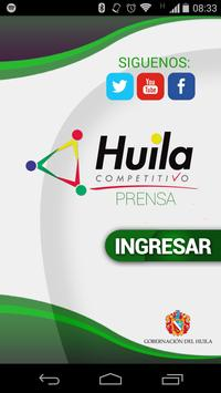 Huila Competitivo poster