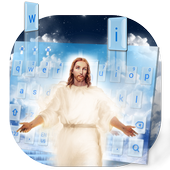 God Jesus Keyboard Theme icon