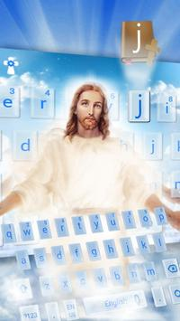 God Jesus Keyboard Theme poster