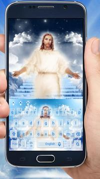 God Jesus Keyboard Theme apk screenshot