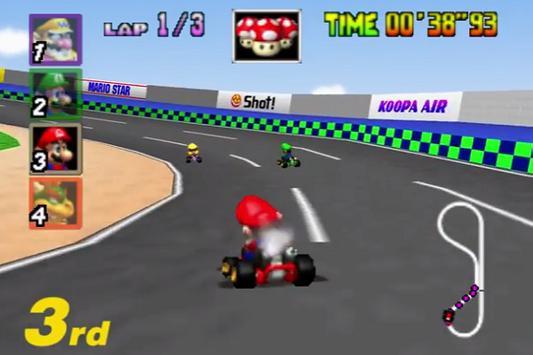 Tricks MarioKart 64 New screenshot 2