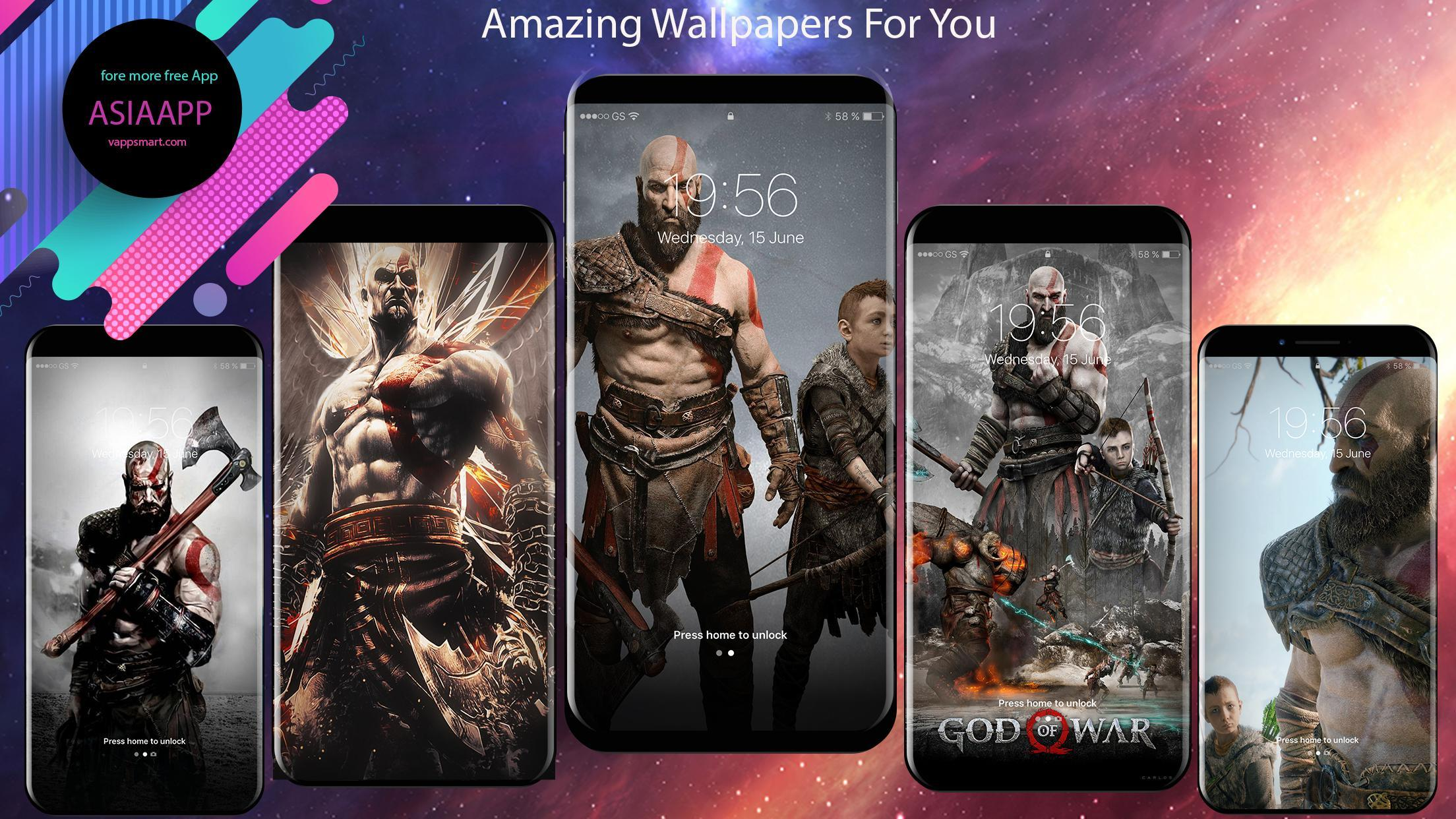 God Of War Wallpapers Backgrounds Hd 4k For Android Apk Download