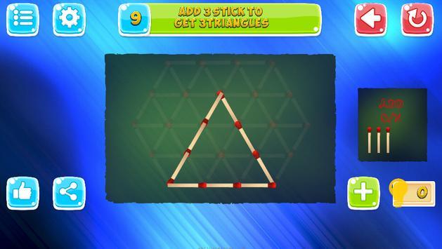 Matches Puzzles screenshot 1