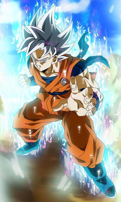 ... Great Goku Saiyan 3D Live Wallpaper screenshot 4 ...