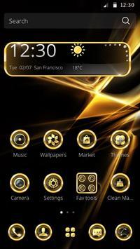 Gold Laser poster