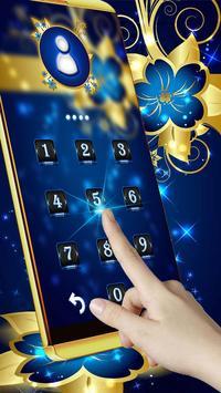 Golden Blue Flower screenshot 3