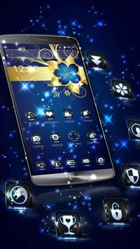 Golden Blue Flower screenshot 4
