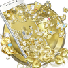 Gold Butterfly Diamond Theme icon