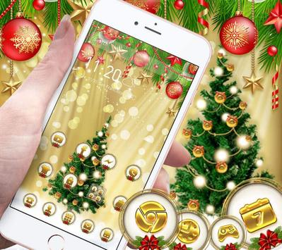 Christmas Gold Theme screenshot 8